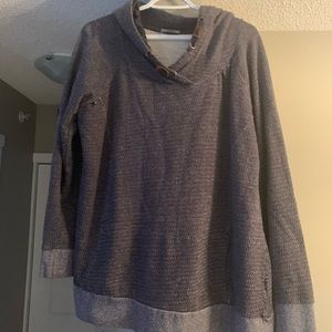 Warehouse One XXL men's navy blue sweater